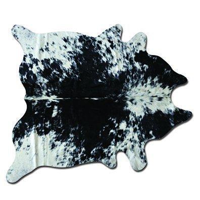KOBE COWHIDE RUG Aprox 6'X7' SALT&PEPPER BLACK/WHITE