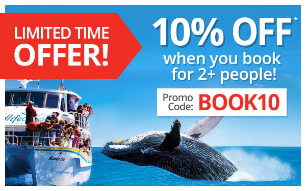 10% off when book for 2 people