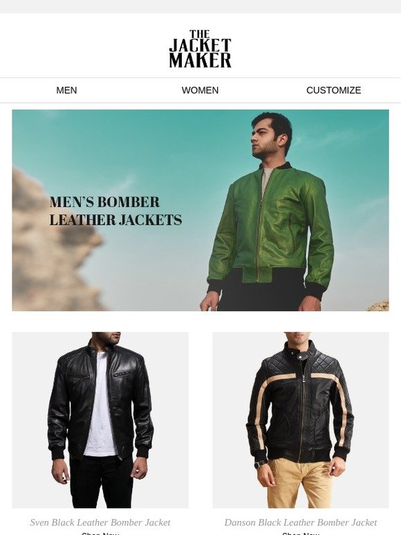 0effed8a0d9 The Jacket Maker  Men s Bomber Jackets - Essentials for Every Man ...