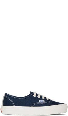 Vans - Blue OG Authentic LX Sneakers