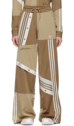 adidas Originals by Danille Cathari - Beige Deconstructed Lounge Pants