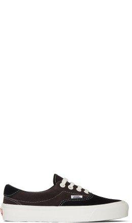 Vans - Black & Brown Suede OG Era 59 LX Sneakers