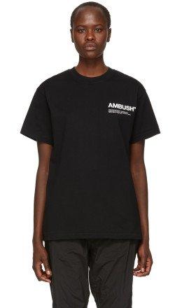 Ambush - SSENSE Exclusive Black Nobo T-Shirt
