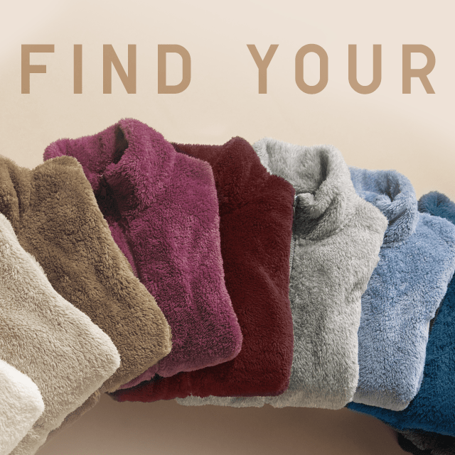 FIND YOUR FLEECE