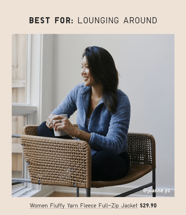 BEST FOR: LOUNGING AROUND