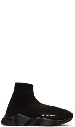Balenciaga - Black Speed Sneakers