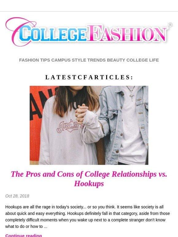 college hookup tips