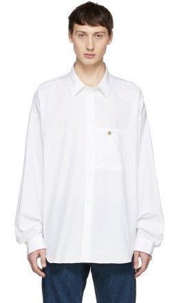 Acne Studios - White Bl Konst Gianni Shirt