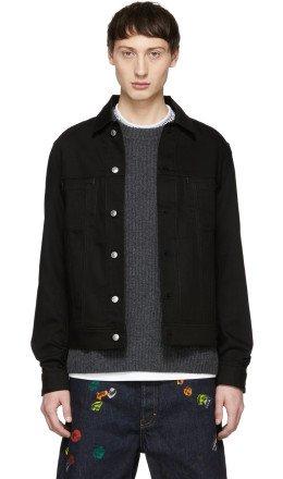 Acne Studios - Black Bl Konst Denim Pass Jacket