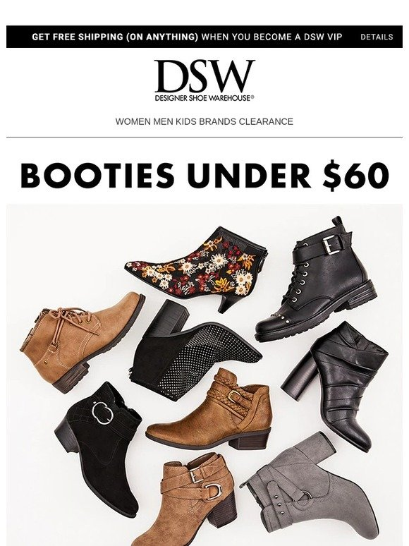 36fcb6546326 DSW  A few booties under  60 you ll love.