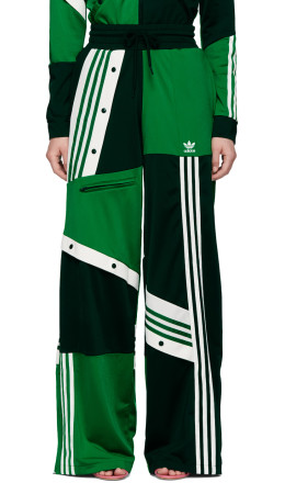 adidas Originals by Danille Cathari - Green Deconstructed Lounge Pants