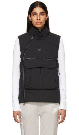 Nike - Black Down Tech Pack Vest