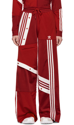 adidas Originals by Danille Cathari - Red Deconstructed Lounge Pants