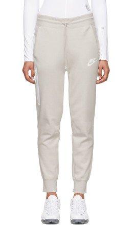 Nike - Beige Tech Fleece Lounge Pants