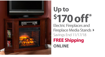 Electric Fireplaces and Media Stands