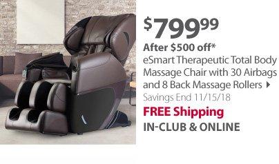 esmart total body massage chair
