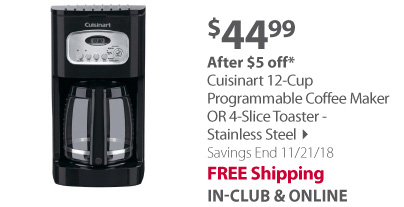 Cusinart Programble Coffee Maker