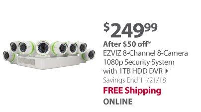 Ezviz 8 channel 8 camera