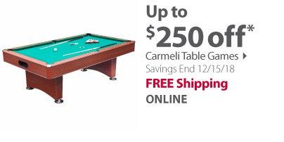 Carmeli table games