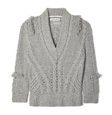 Spencer Vladimir On-The-Fringe V-Neck Cashmere Sweater $1,250