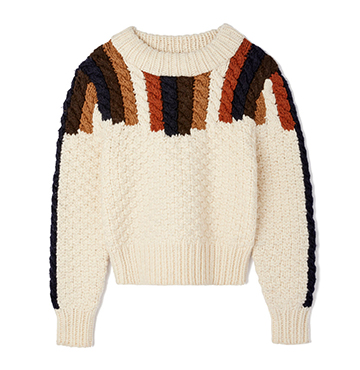 Aspen Chunky Hand-Knit Sweater