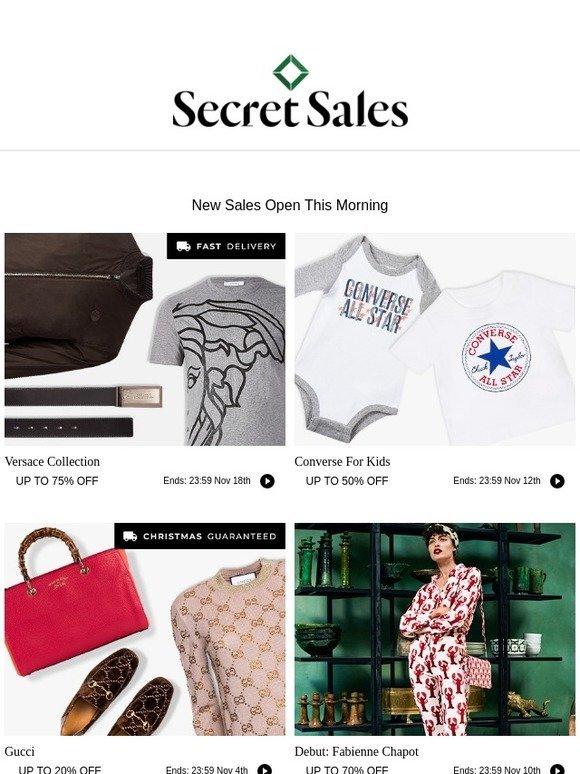 1032c55739a6 Secret Sales  Versace Collection