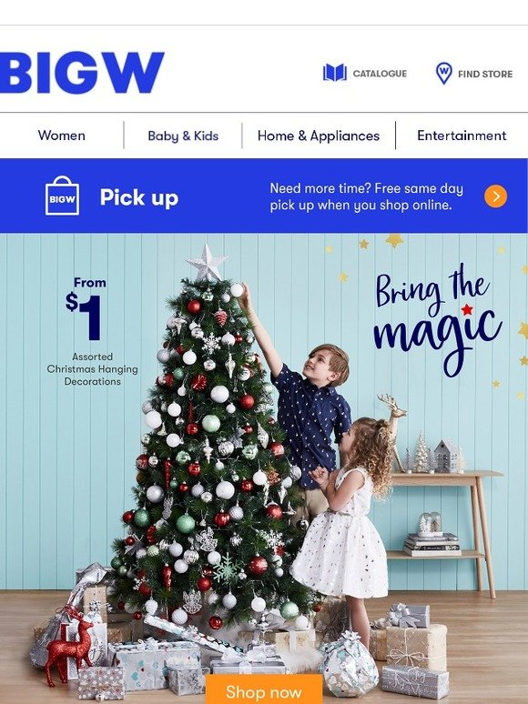 BIG W: Bring The Magic This Christmas | Milled
