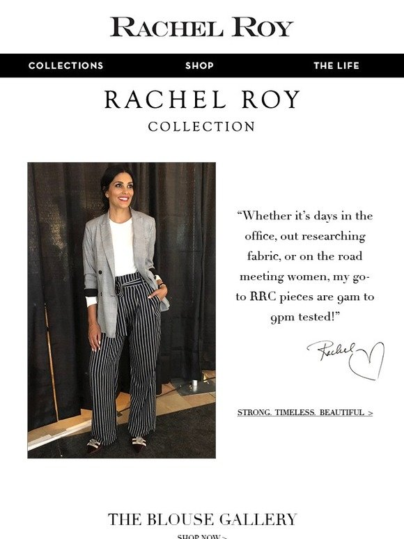 Rachel Roy At Work With Rachel Milled