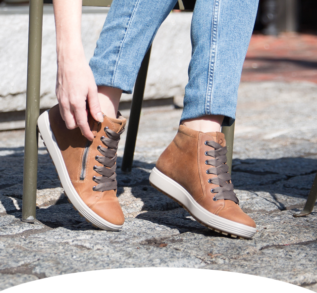 ECCO USA SHOES: Our classic sneaker gets an upgrade. | Milled
