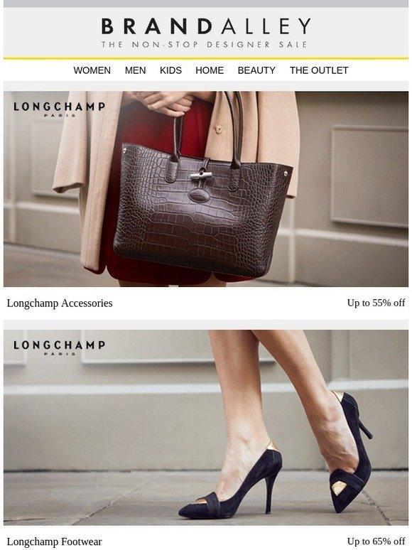 5affb8fff brandalley uk limited: Longchamp Accessories, Footwear & Clothing! Plus  Signature Bed Linen, Belledorm 600TC, Emma Mattresses, Orla Kiely Kitchen,  Dining, ...