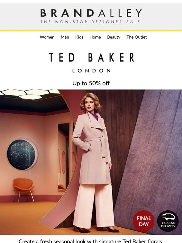 b2701a1da brandalley uk limited  We re calling time on Ted Baker!