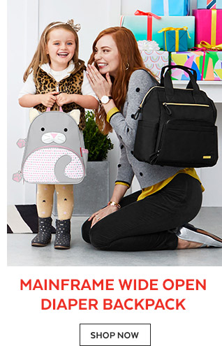 Mainframe Wide Open Diaper Backpack   Shop Now