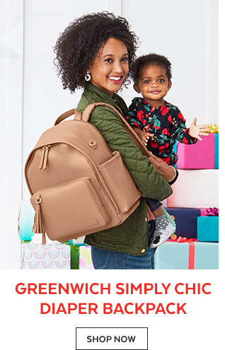 Greenwich Simply Chic Diaper Backpack   Shop Now