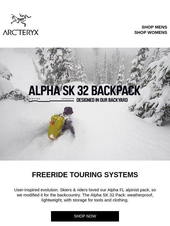 4cba4b814b Arcteryx  Built for Backcountry