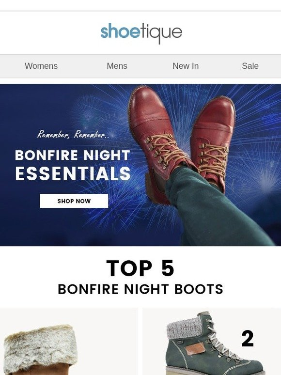 965bbcab07b Shoetique: Top 5 Boots For Bonfire Night!   Milled