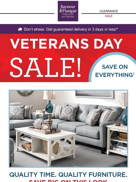 Quality Of Raymour And Flanigan Furniture Part - 14: Raymour u0026 Flanigan: The Veterans Day Sale startsu2026u2026.right now! | Milled