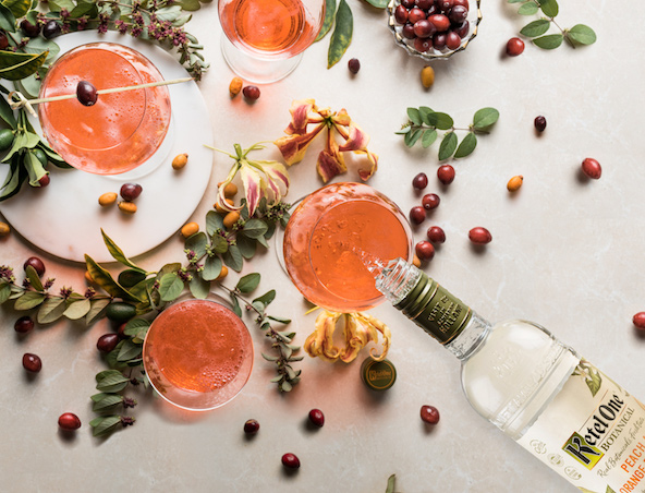 Spritzy, Sparkly Fall Cocktails