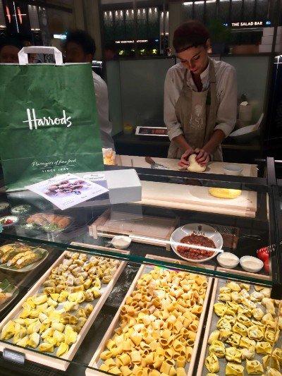 Pasta Evangelists: Pasta Evangelists is in Harrods! Get £15