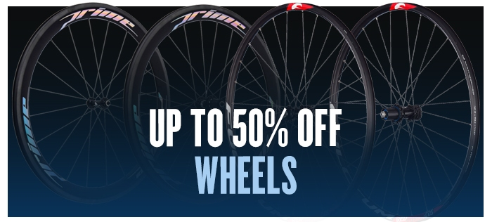 Up to 50% off Wheels