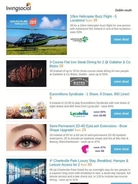 Livingsocial Ireland Deals For You 10km Helicopter Flight 39