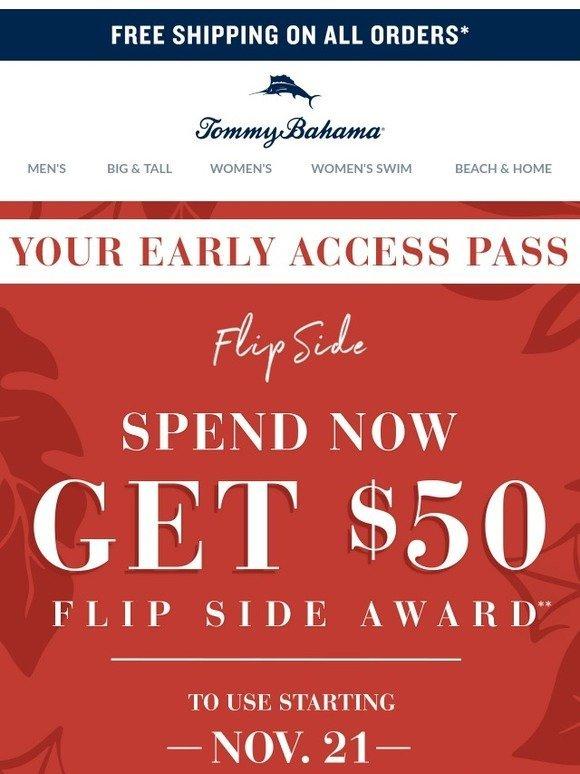 tommy bahama flip side
