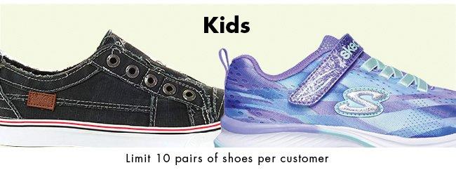 Saturday Only - Shop Our Shoe Sale