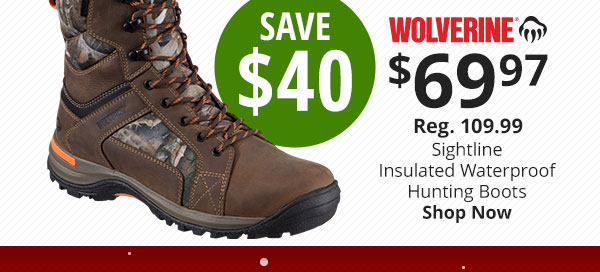 Wolverine Sightline Hunting Boots