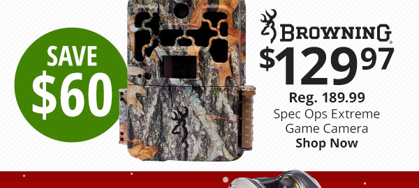 Browning Spec Ops Extreme FHD Series MP Trail Camera