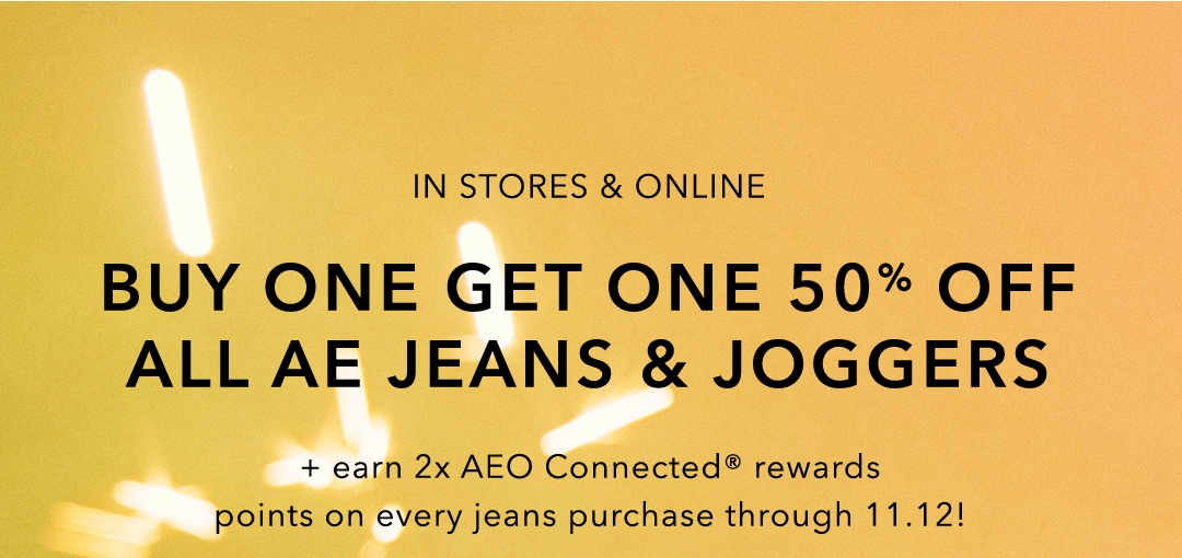 572ac55814a aerie  BOGO 50% off jeans   joggers + softness that ll knock your ...