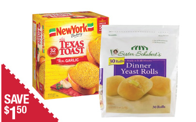 New York Texas Toast
