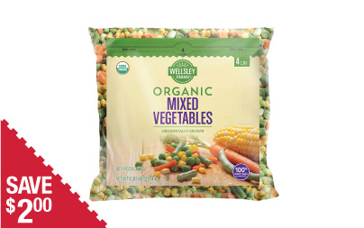 WF Organic Mixed Veg