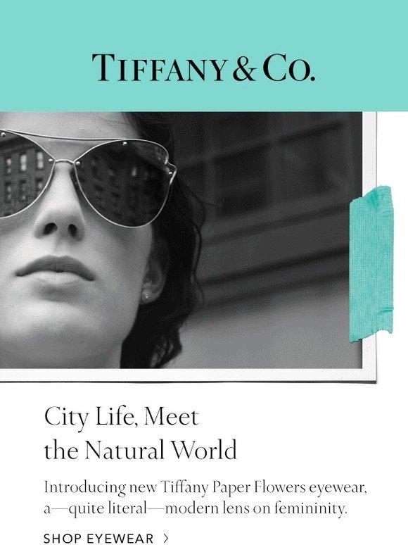 Tiffany Co Just In New Eyewear Milled