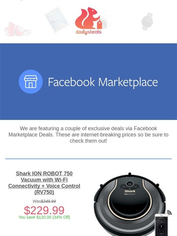 1d95f18b02a Daily Steals: Nest, Cuisinart, Google & More via Facebook Marketplace Deals  Today! | Milled