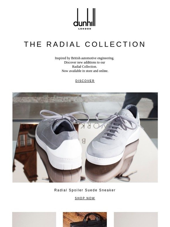 f7940f3e3462e Alfred Dunhill: The Radial Collection: New Additions | Milled